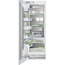 "Vario freezer 400 series RF 461 700 fully integrated Niche width 24"" (61 cm), Niche height 84"" (213.4 cm)"