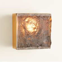 Cube Sconce-Satin Brass-HW