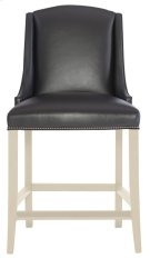 Slope Leather Bar Stool in Chalk Product Image