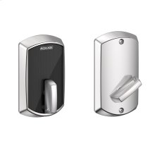 Schlage Control Smart Deadbolt with Greenwich trim - Bright Chrome