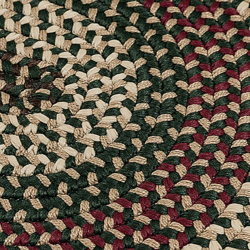 Brook Farm Rug BF62 Winter Green 4' X 4'
