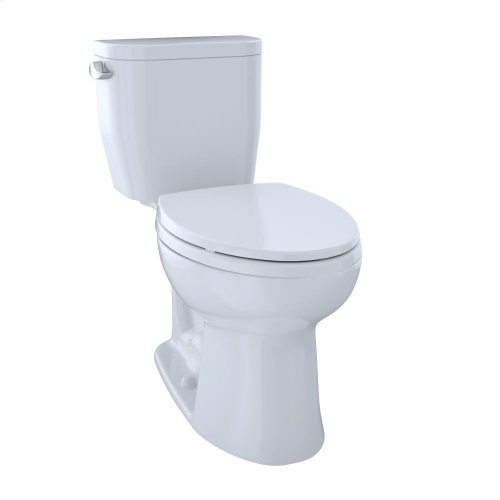 Entrada™ Close Coupled Elongated Toilet 1.28GPF - Cotton