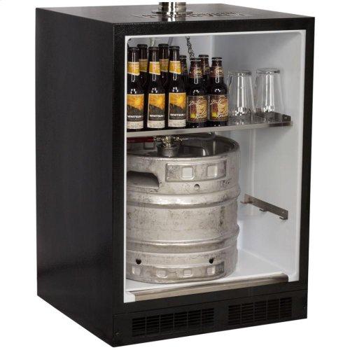 Built-In Indoor Single Tap - Marvel Refrigeration - Solid Stainless Steel Door - Right Hinge