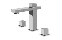 Structure Widespread Lavatory Faucet
