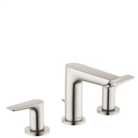 Brushed Nickel Talis E 150 Widespread Faucet, 1.2 GPM