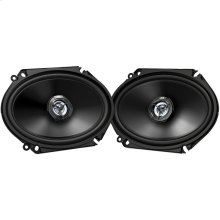 "drvn DR Series Shallow-Mount Coaxial Speakers (6"" x 8"", 300 Watts Max, 2 Way)"
