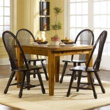 Retractable Leg Table - Oak