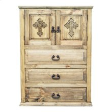 Econo 2door 3drawer Chest Crs