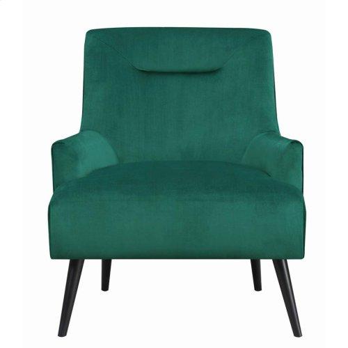 Mid-century Modern Green Accent Chair