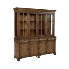 Shop Floor Showcase Buffet & Hutch