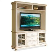 Placid Cove Hutch Honeysuckle White finish Product Image