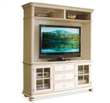 Placid Cove Hutch Honeysuckle White finish