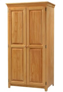 Solid Pine Pantry Cabinet