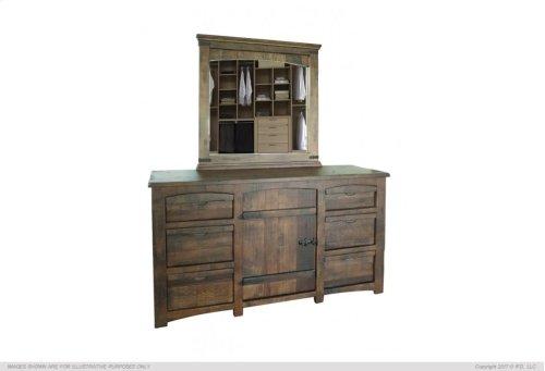 6 Drawers, 1 Door Dresser