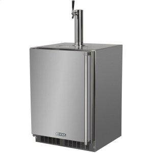 "LynxLynx 24"" Refrigerator w/Keg option, Left Hinge"