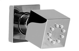 Square body Spray with Solid Brass Swivel Head