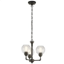Niles Collection Niles 3 Light Chandelier/Semi Flush OZ