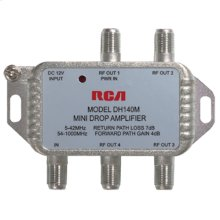 Digital Plus multimedia RF 4 way amplifier