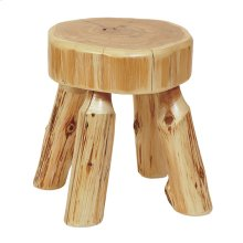 Foot Stool Natural Cedar
