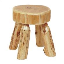 Foot Stool Natural Cedar