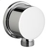 Round Wall Supply - Brushed Nickel