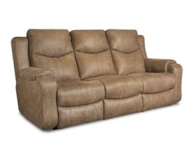 Fabric Power Double Reclining Sofa (available in Leather)