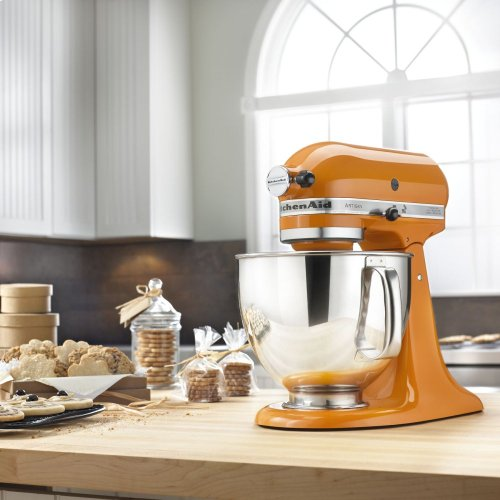 Artisan® Series 5 Quart Tilt-Head Stand Mixer - Tangerine