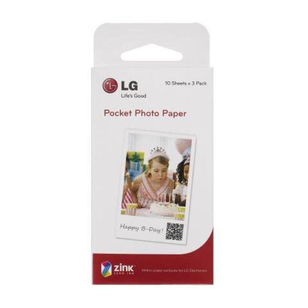Pocket Photo Paper