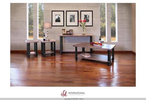 Sofa Table w/1 Wooden Shelf
