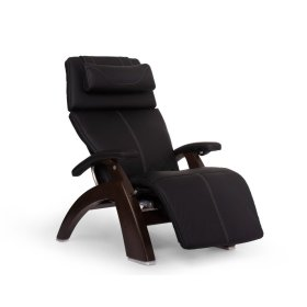 Perfect Chair PC-610 - Black SofHyde - Dark Walnut