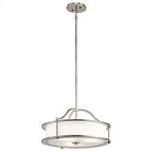 Emory Collection Emory 4 Light Chandelier/Semi Flush - CLP