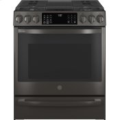 "30"" Smart Slide-In Front-Control Gas Range with No Preheat Air Fry"