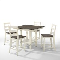 Dining - Glennwood Counter Table  White & Charcoal Product Image