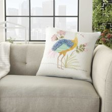 """Plushlines Ch342 Multicolor 18"""" X 18"""" Throw Pillows"""