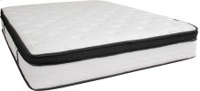 Capri Comfortable Sleep 12 Inch Memory Foam and Pocket Spring Mattress, Queen in a Box