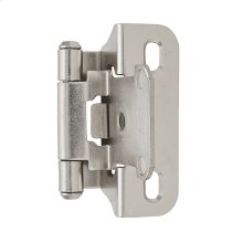 Self-closing, Partial Wrap 1/4 In (6 Mm) Overlay Hinge
