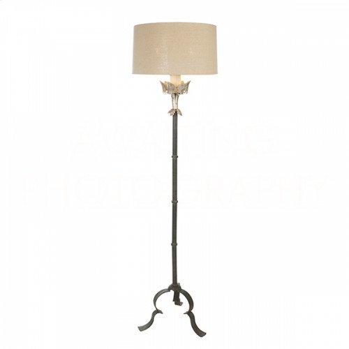 Marshal Silver Floor Lamp