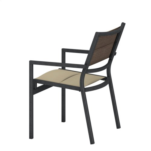 Cabana Club Padded Sling Dining Chair