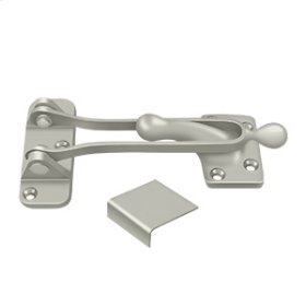 "5"" Door Guard - Brushed Nickel"
