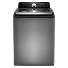4.5 cu. ft. King-size Capacity High Efficiency Top Load Washer (Stainless Platinum)