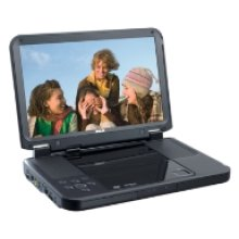 """Portable DVD Player with 10"""" LCD Screen"""