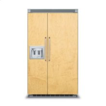 """48"""" Custom Panel Side-by-Side with Dispenser"""