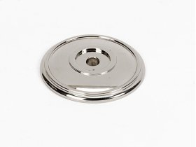 Classic Traditional Rosette A1564 - Polished Nickel