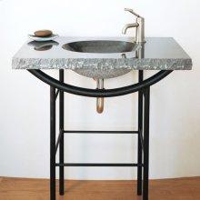 Integral Sink Beige Granite
