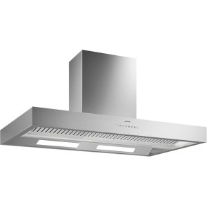 Gaggenau400 series 400 series Island hood stainless steel Air recirculation with 400 series AR410710 or AR413722 blowers.