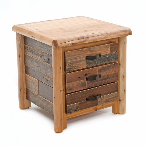 Laurel Hollow 3 Drawer Nightstand