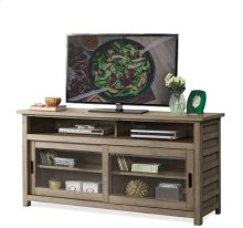 Perspectives 64-Inch TV Console Sun-drenched Acacia finish