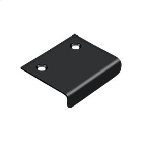 """Drawer, Cabinet, Mirror Pull, 2""""x 1-1/2"""" - Paint Black"""
