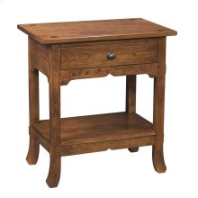Nightstand with One Drawer