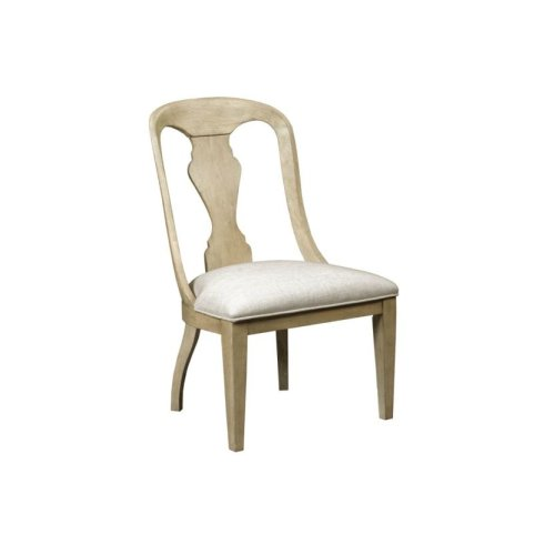 Whitby Upholstered Side Chair Driftwood